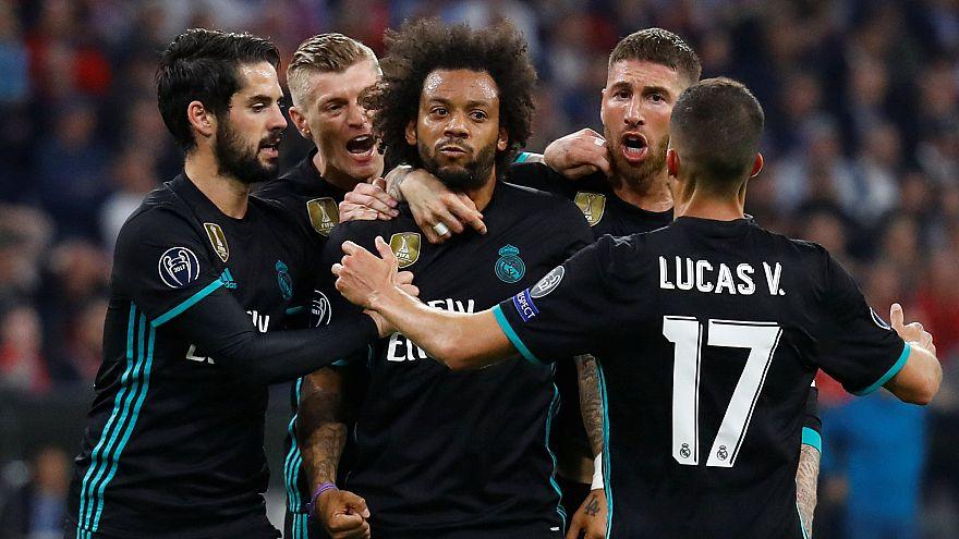 Bajnokok Ligája: Real-győzelem Münchenben