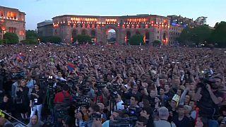 La oposición reclama en la calle la dimisión del gobierno armenio