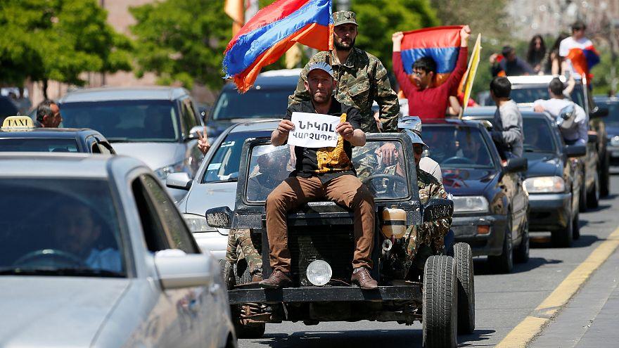 Opposition in Armenien will Protestanführer als Regierungschef