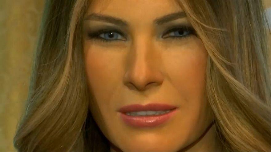Melania Trump als Wachsfigur