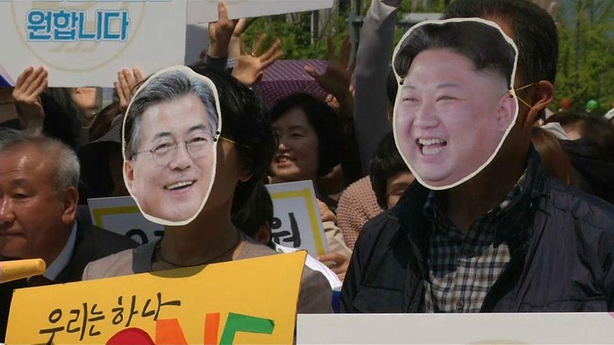 Coree: prove di pace, vertice tra i leader Moon e Kim Jong-un