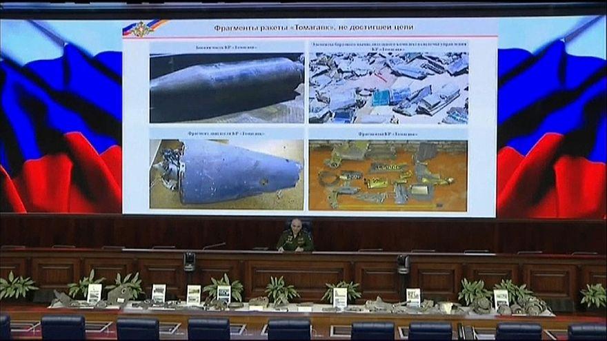 الناطق باسم وزارة الدفاع الروسي سيرغي رودسكوي خلال مؤتمر صحفي