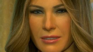 New Melania Trump waxwork at New York's Madame Tussauds