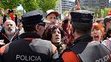 'La Manada' condenada a 9 años de prisión por abuso sexual, pero no por violación