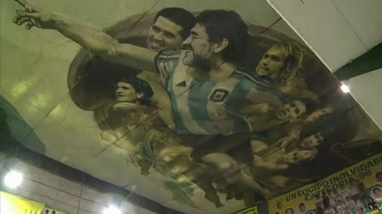 Messi Ádám, Maradona az Úr szerepében