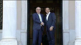 Atene: Juncker apprezza i progressi della Grecia