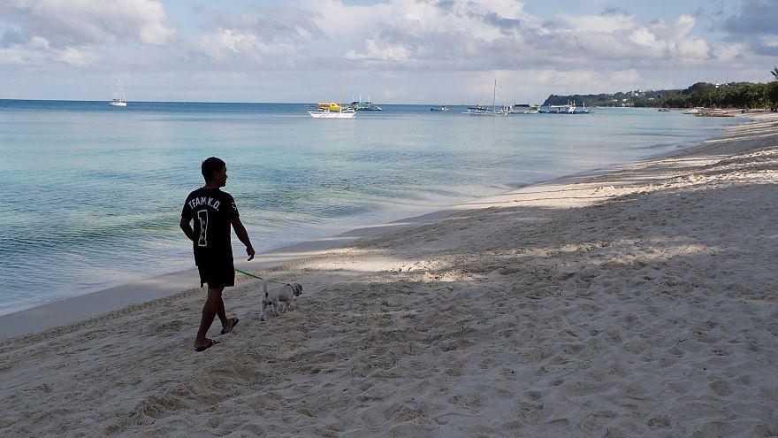 Boracay, île de rêve des Philippines, fermée aux touristes