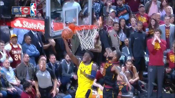 LeBron James salva a los Cavaliers antes los Pacers en la NBA