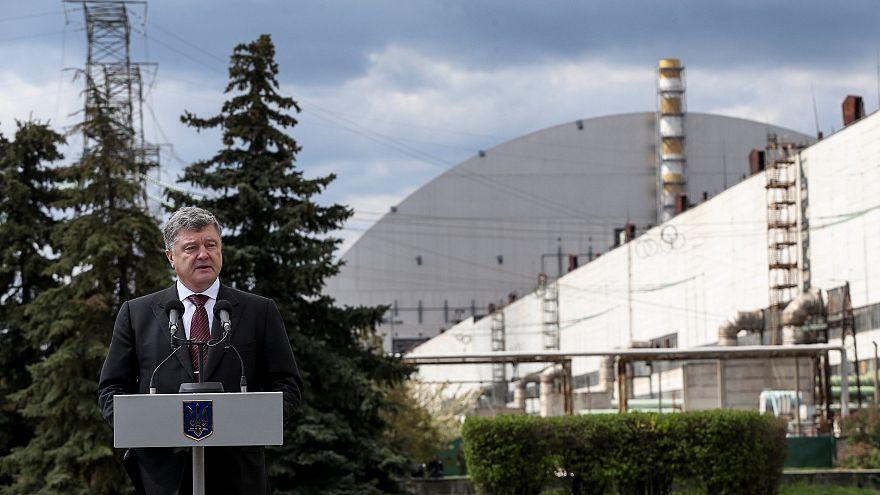 32 Jahre nach Tschernobyl: Poroschenko besucht Prypjat