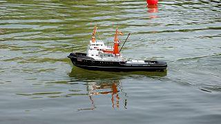 4500 Kilometer: Schottisches Spielzeugboot erreicht Karibik