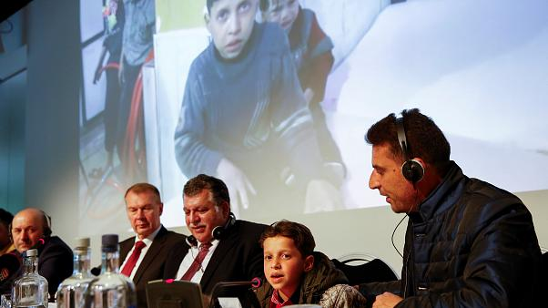 حسن دیاب در جلسه سازمان منع کاربرد سلاح شیمیایی در لاهه