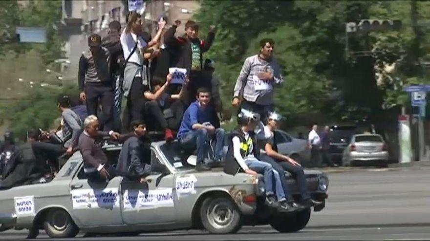 Protests continue in Armenia