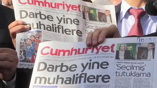 """Cumhuriyet : """"Vous aurez honte devant l'Histoire"""""""