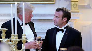 Emmanuel Macron - Donald Trump