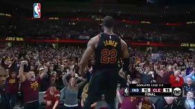 NBA: LeBron James-show Clevelandben