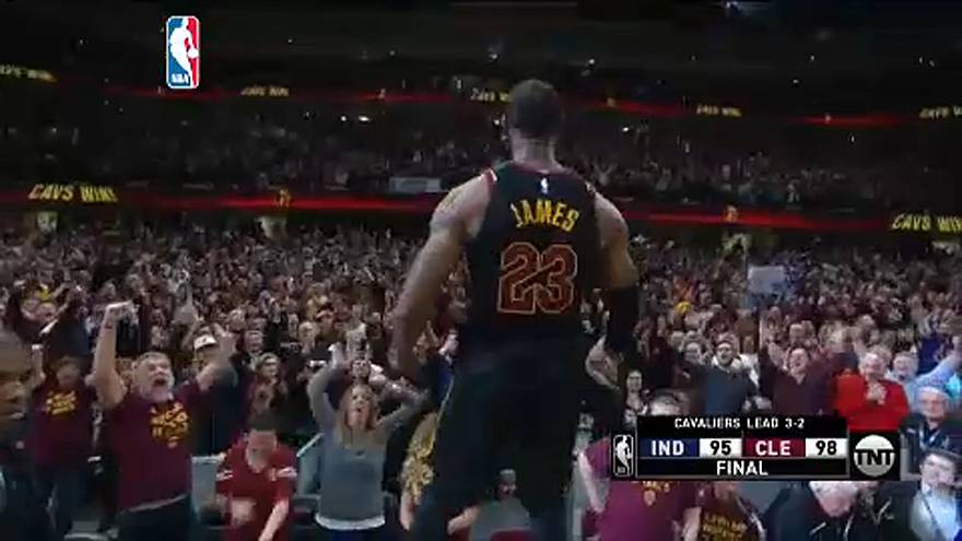 NBA: LeBron James-show Clevelandben