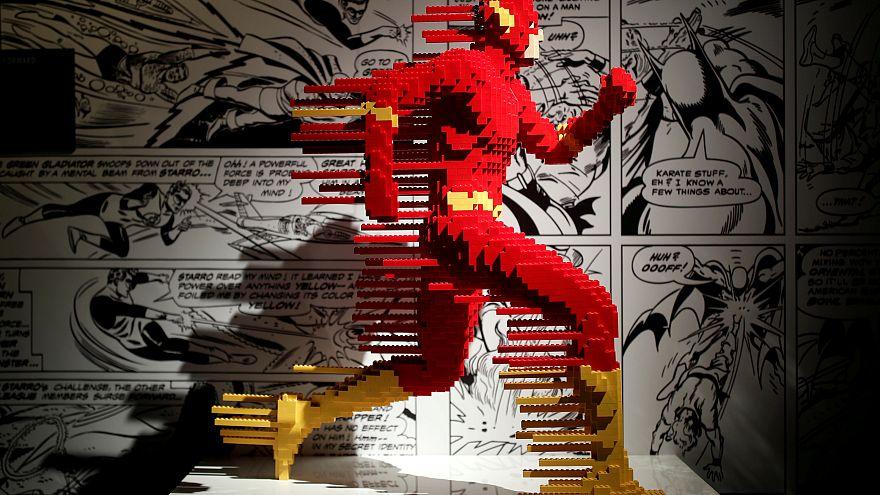 Супергерои из конструктора Лего