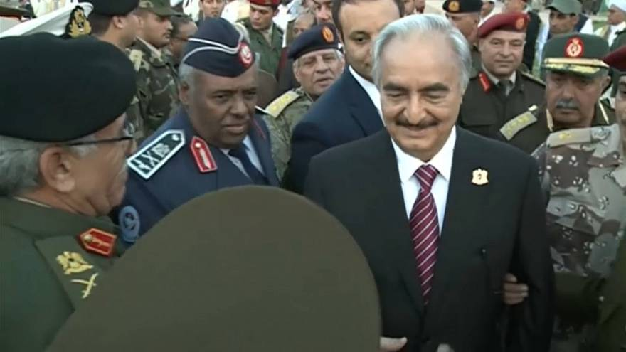 بالفيديو: القائد العسكري خليفة حفتر يعود إلى ليبيا