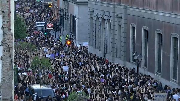 Protests after court decision