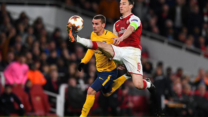 Atlético surpreende Arsenal na Liga Europa