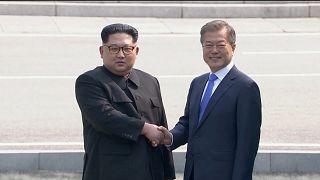 Um dia histórico na Península da Coreia