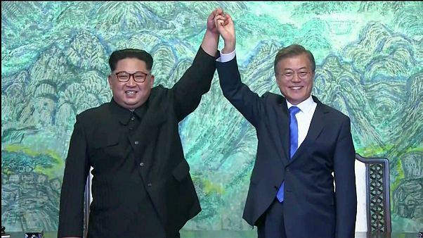 نشست تاریخی سران شبه جزیره؛ دو کشور تا آخر سال پایان جنگ کره را اعلام میکنند