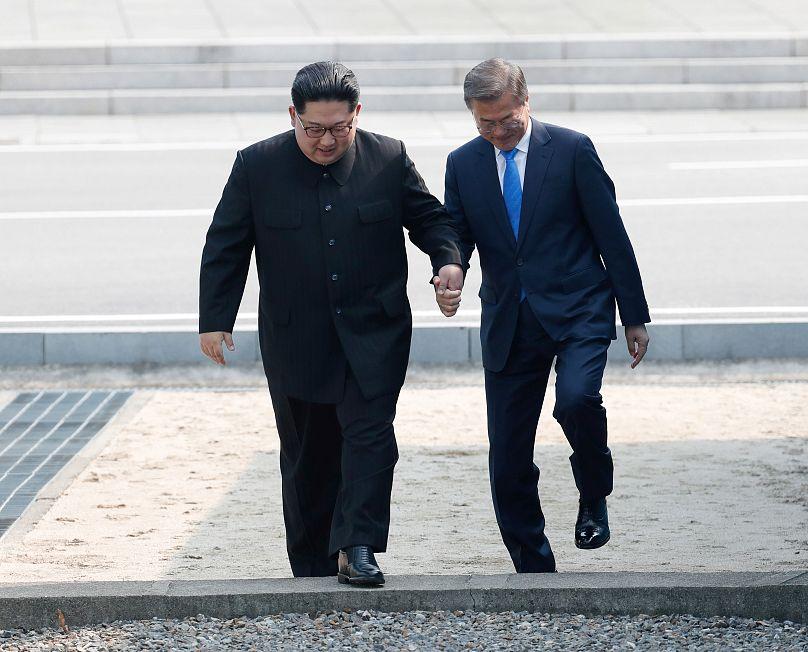(2e LD) Les deux Corées conviennent de dénucléariser complètement la péninsule coréenne
