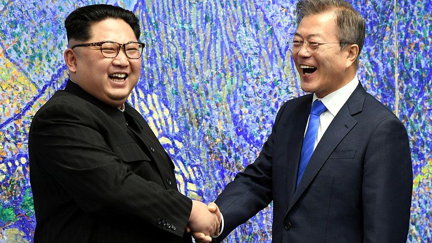 Kim Jong-un et Moon Jae-in s'engagent en faveur de la dénucléarisation de la péninsule coréenne