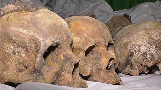 Mass grave found in Rwanda
