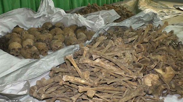 بزرگترین کشف گور دسته جمعی نسل کشی در رواندا