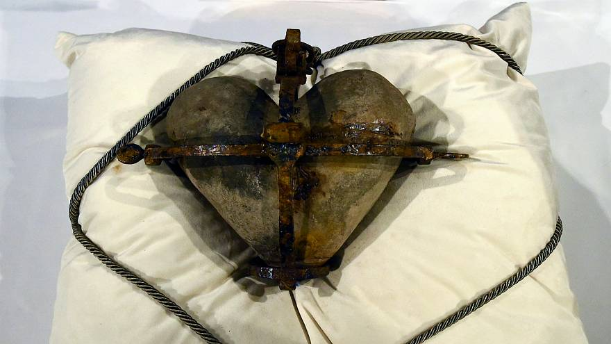 العثور على قلب قديس إيرلندي بعد ستة أعوام على سرقته