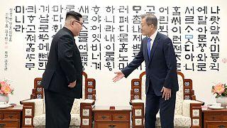 دیدار رهبران کره شمالی و جنوبی