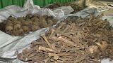 Массовые захоронения в Руанде