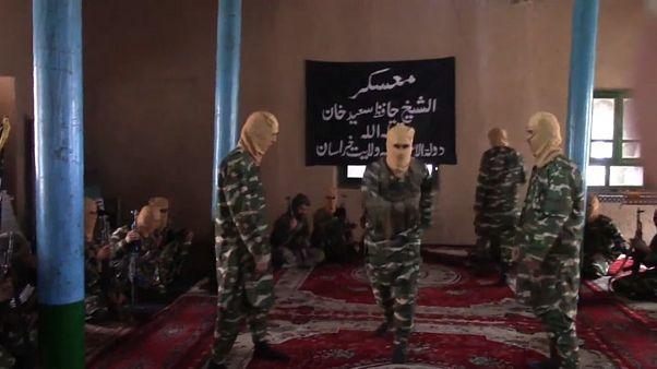 ویدئوی منتشر شده از جنگجویان داعش