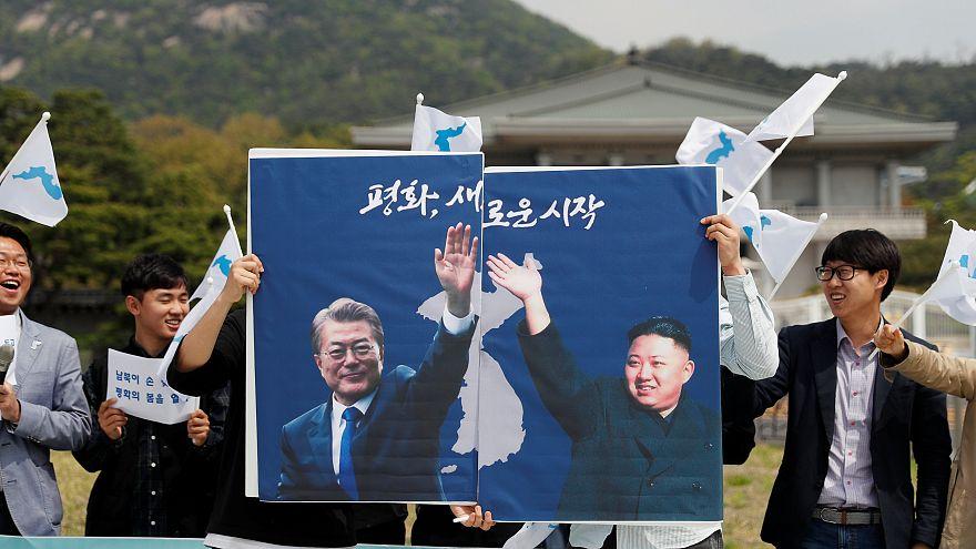 Güney ve Kuzey Kore liderleri tarihi zirvede nükleer silahsızlandırma kararında uzlaştı
