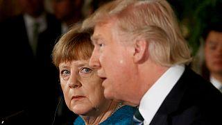رئیس جمهوری آمریکا و صدراعظم آلمان