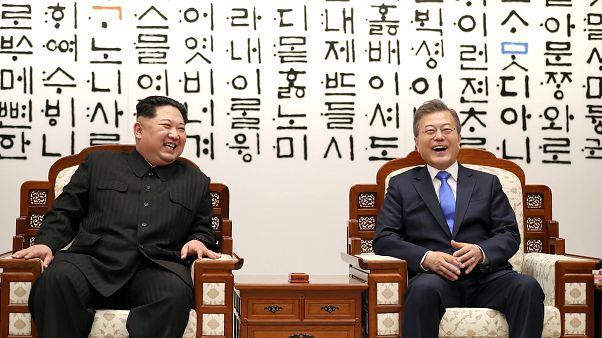"""Kim Jong-un in Südkorea: """"Jetzt fängt eine neue Geschichte an"""""""
