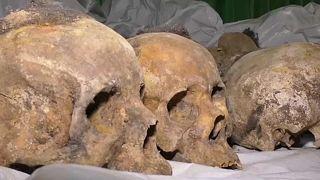 Kétezer holttest maradványait tárták fel Ruandában
