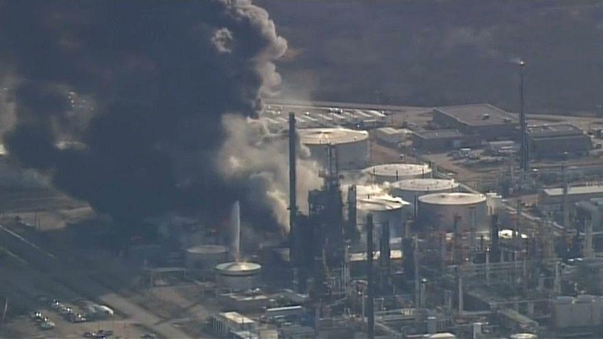 США: пожар на заводе в штате Висконсин