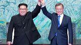 الكوريتان تتفقان على نزع السلاح النووي وإنهاء الحرب الكورية