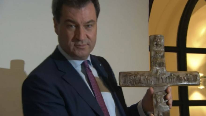 Compulsory crucifixes in Bavaria spark controversy