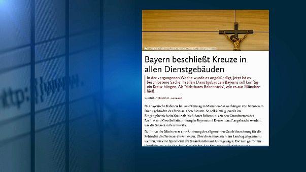 Baviera: petizione studentesca contro l'esposizione dei crocifissi