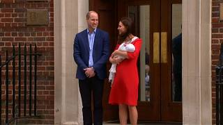 Луи Артур Чарльз - имя новорожденного британского принца