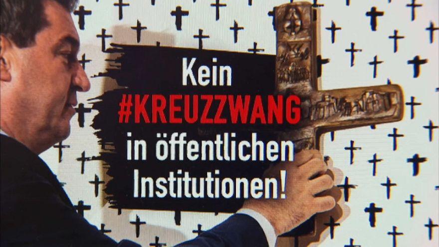 Kritik an Kreuzen in bayrischen Behörden