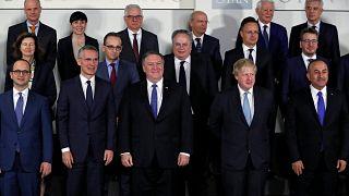 اولین دیدار پمپئو با وزرای خارجه کشورهای عضو ناتو در بروکسل