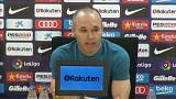 Andrés Iniesta anuncia su marcha del FC Barcelona