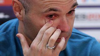 Ινιέστα: «Φεύγω στο τέλος της σεζόν από τη Μπαρτσελόνα»