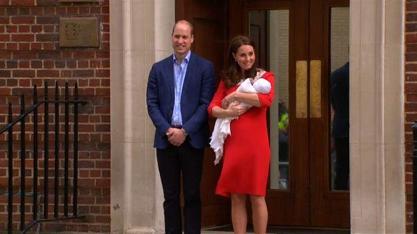 İngiliz kraliyet bebeğinin ismi belli oldu