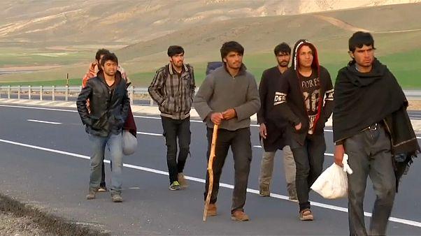 Surge in Afghan refugees arriving in Turkey