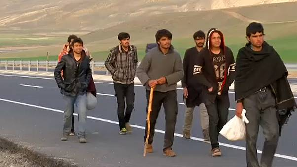 Egyre több afgán menekült érkezik Törökországba